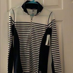 Long sleeve 3/4 zip pullover